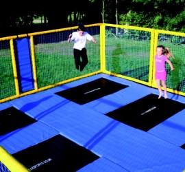 trampoline hire