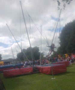 Bungee trampoline